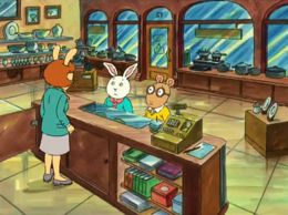 Perske's Kitchen Shop in Flaw and Order (Buster and Arthur)