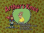 Arthur's Knee Title Card