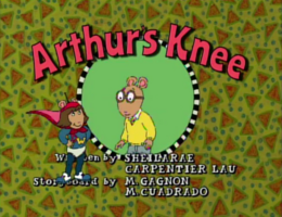 Arthur's Knee Title Card