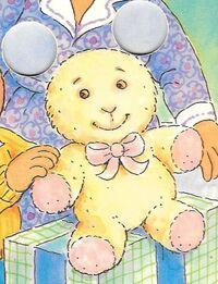 Baby Kate's stuffed bunny