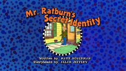 Mr. Ratburn's Secret Identity Title Card