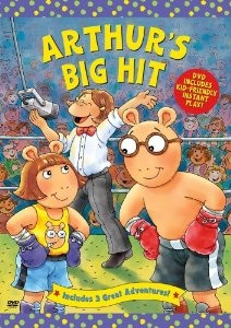 Arthur's Big Hit DVD