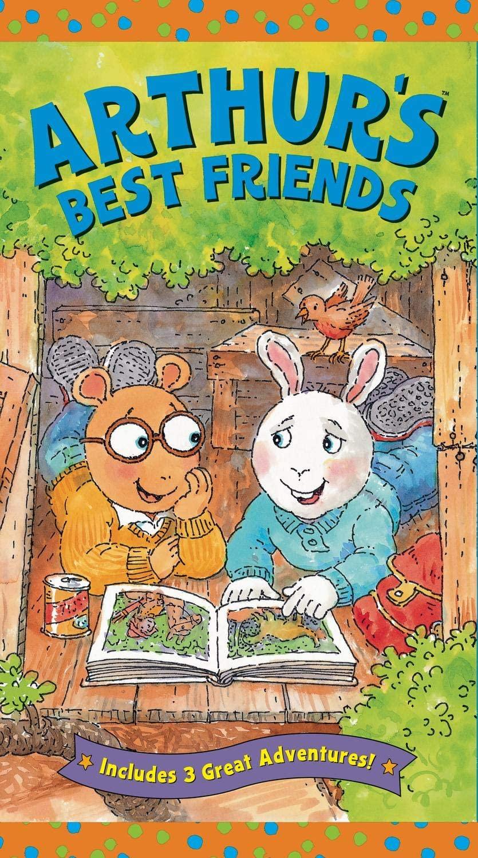 Arthur's Best Friends VHS
