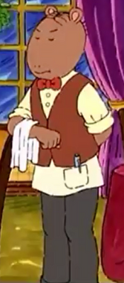Waiter (D.W., the Picky Eater)