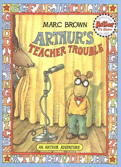 Arthur's Teacher Trouble Cover
