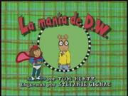 D.W.'s Blankie Spanish