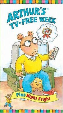 Arthur's TV-Free Week VHS