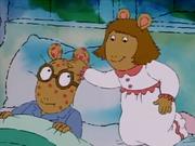 Arthur ashamed chickenpox