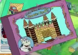 Fairy Mary Moo Cow Cookie Castle