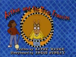 Arthur and the True Francine Title Card
