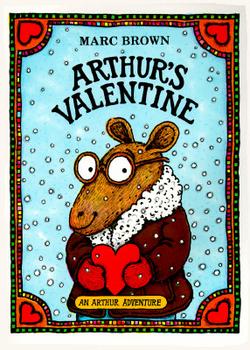 Arthur's Valentine Original Cover