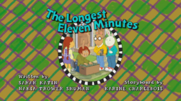 The Longest Eleven Minutes Title Card