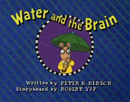 Water and the Brain Title Card
