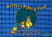 Arthur's Family Feud Title Card