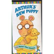 Arthur's New Puppy VHS