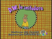 D.W. the Copycat Spanish