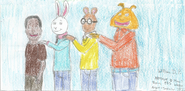 Demetre, Buster, Arthur, and Binky Aug-Sept 2016 2