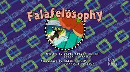 Falafelosophy - title card
