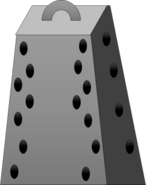 Cheese Grater Body