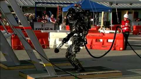 Robot highlight footage from DARPA's Robot Challenge 2013