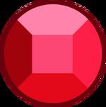 Cherry Quartz Ruby Gemstone