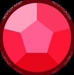 Cherry Quartz Rose Gemstone
