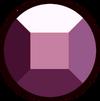 Lepidolite Ruby Gemstone
