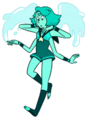 Turquoise without glasses