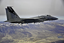 144th FW F-15 Eagle