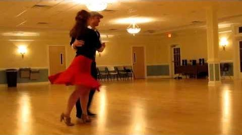 Balboa dance demo