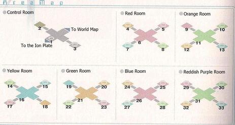 Musical Corridor Area Map
