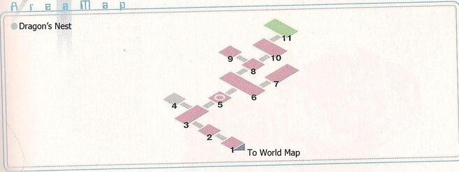Dragon's Nest Area Map