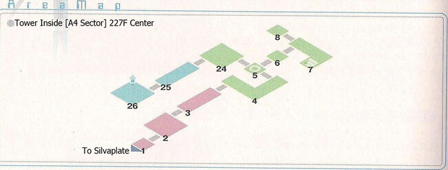 Tower Sector A4 227F Center Area Map