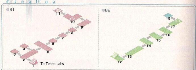 Tenba Tower Area Map