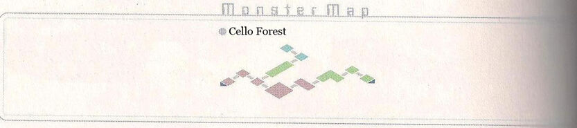 Cello Forest Monster Map