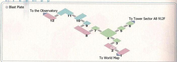 Blast Plate Area Map
