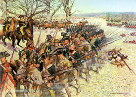 Battle of Guiliford Courthouse 15 March 1781