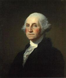 Gilbert Stuart Williamstown Portrait of George Washington