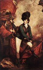 General Sir Banastre Tarleton by Sir Joshua Reynolds