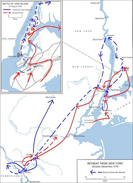 New York and New Jersey campaign | American Revoluntionary War Wiki ...