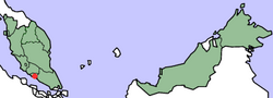 MapMalaysiaMalaccaTown