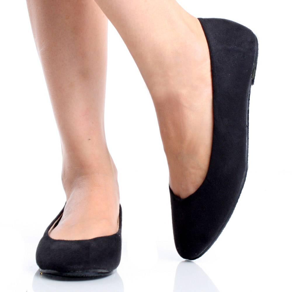 4965e4fd77c Black Ballet Flats