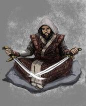 Mongolian sword saint by thelivingshadow-d5ua2pu