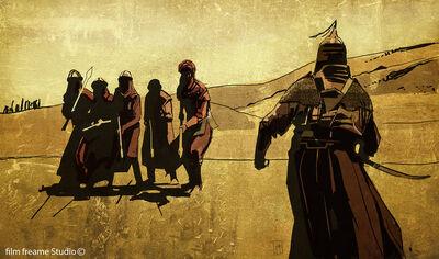 Arab warrior by shanyar-d4ulc8b