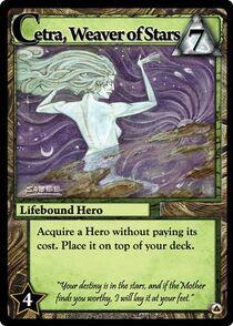 Cetra, Weaver of Stars