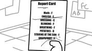 I Like Trains Kid's Report Card