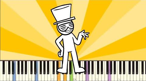 IMPOSSIBLE REMIX - Everybody Do The Flop (asdfmovie) - Piano Cover - TomSka