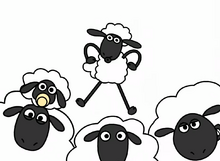 Shaun the Sheep minus8