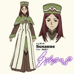 Anime Concept Susanne
