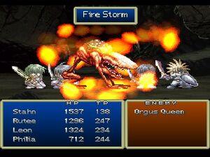 Fire Storm (ToD PSX)